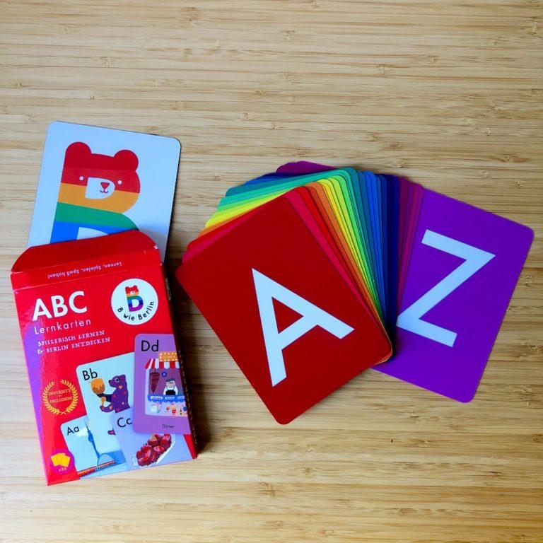 ABC Lernkarten von B wie Berlin